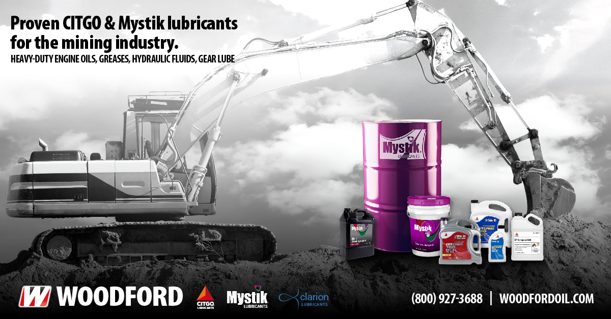 Proven Citgo And Mystik Lubricants For The Mining Industry